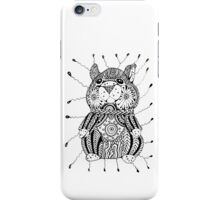 Speaking hamster iPhone Case/Skin