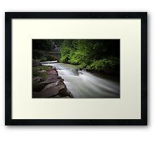Full flow. Framed Print