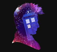 The Tenth Doctor Silhouette with TARDIS Unisex T-Shirt