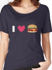 Burger Lovin' Women's Relaxed Fit T-Shirt
