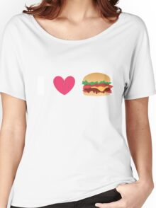 Burger Lovin' Women's Relaxed Fit T-Shirt