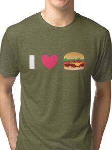 Burger Lovin' Tri-blend T-Shirt