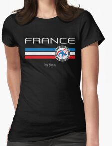 Euro 2016 Football - France (Home Blue) Womens Fitted T-Shirt