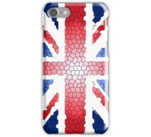 Union Jack, Stained, Glass, effect, UK, Flag, BRITAIN, BLIGHTY, BRITISH,  iPhone Case/Skin