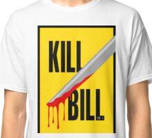 Kill Bill film poster Classic T-Shirt