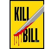 Kill Bill film poster Photographic Print