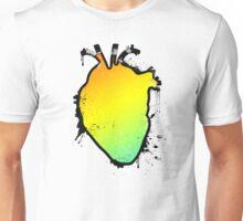 rainbow anatomical heart Unisex T-Shirt
