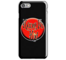 Kung Fu Kid, Chinese, China, Martial Art, Fight Club, MMA iPhone Case/Skin