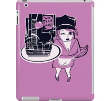 We Talk Games Stacked Roller Girl iPad Case/Skin