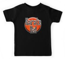 KARATE, Karate Kid, Japanese, JAPAN, MMA, Rising Sun background Kids Tee