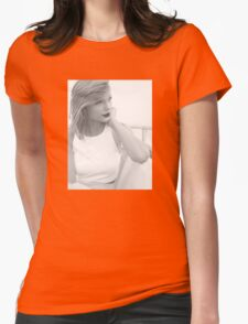 Taylor swift - vintage Womens Fitted T-Shirt