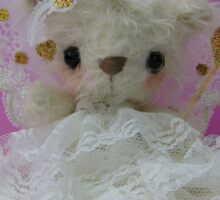 Handmade bears from Teddy Bear Orphans - Fairy Alina Sticker