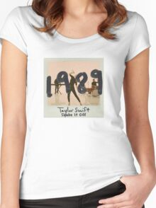 Taylor swift - shake it off Women's Fitted Scoop T-Shirt