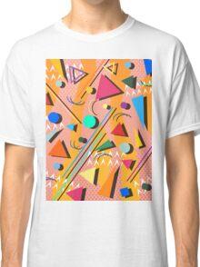 80s pop retro pattern Classic T-Shirt