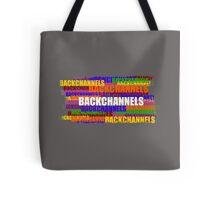 BACKCHANNELS! Tote Bag