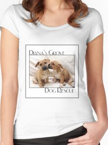 DGDR Logo Women's Fitted Scoop T-Shirt