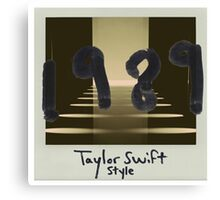Taylor swift - Style Canvas Print