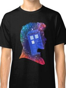 The Eleventh Doctor Silhouette with TARDIS Classic T-Shirt