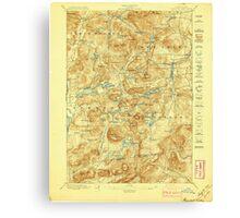 New York NY Paradox Lake 148184 1897 62500 Canvas Print