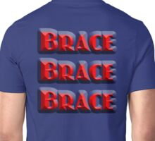 ACCIDENT, DISASTER, AIR CRASH, IMPACT, Brace, Brace, Brace, Get a grip! Hold on, Disaster Unisex T-Shirt