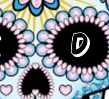 Kappa Delta Sorority Candy Skull Sticker