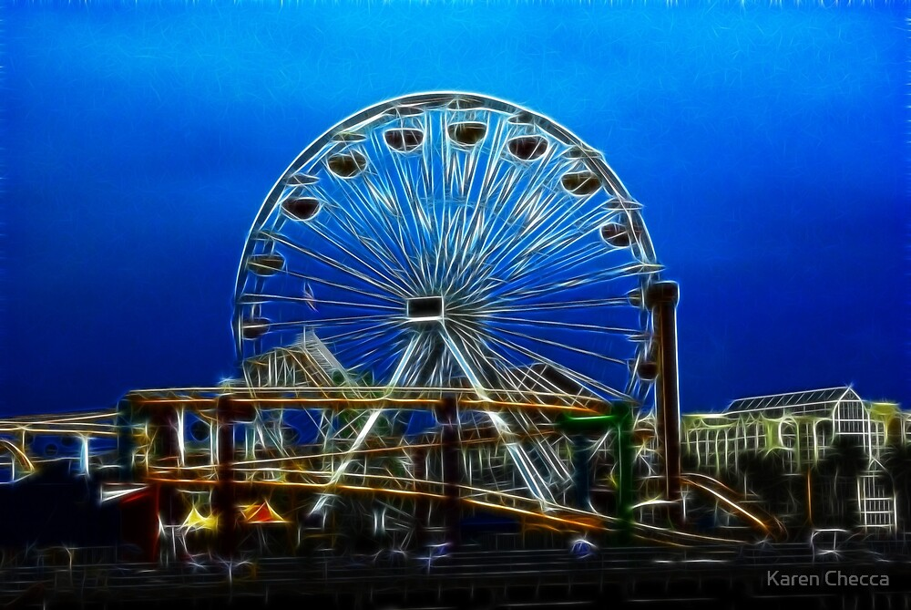 Rides in Fractalius by Karen Checca
