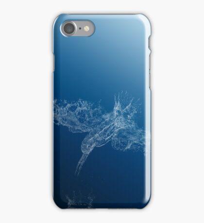 Flying waterdrops iPhone Case/Skin