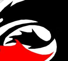 How to Train Your Dragon Night Fury Logo Sticker