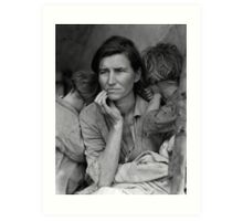 Migrant Mother by Dorothea Lange (1936) Art Print