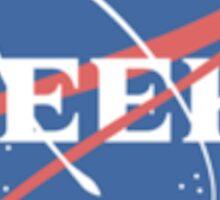 Geek - Nasa Logo Sticker