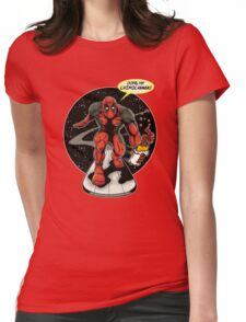Chimichanga Surfer Womens Fitted T-Shirt
