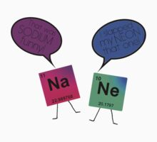 Sodium and Neon Chemistry Pun Kids Clothes