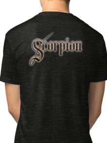 Scorpion, Sting, Sting in the tail! Venom, Stinger! Poison Tri-blend T-Shirt