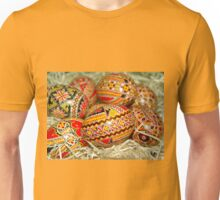 Colorful Easter Eggs Unisex T-Shirt