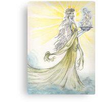 The Elven Maiden Canvas Print