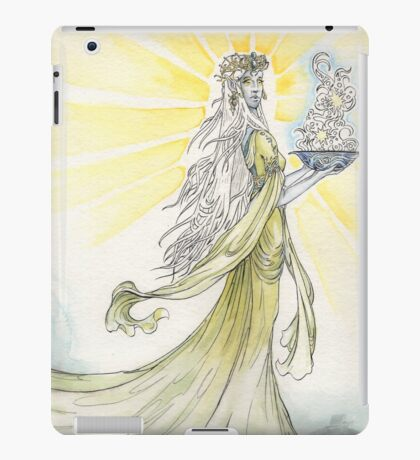 The Elven Maiden iPad Case/Skin