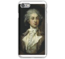 DANCER AUGUSTE VESTRIS  Thomas gainsborough iPhone Case/Skin