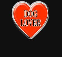 DOG, Dogs, Pets, Dog Lover at heart, Walkies, BLACK Unisex T-Shirt
