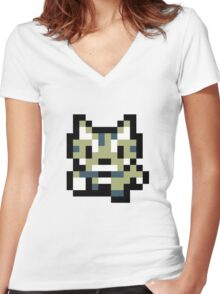 Pham Cat Women's Fitted V-Neck T-Shirt