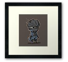 Hunter Chibi Bloodborne Framed Print