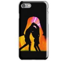 Star Wars - Anakin Skywalker Vs Obi Wan Kenobi iPhone Case/Skin
