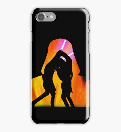 Star Wars - Anakin Skywalker Vs Obi Wan Kenobi iPhone Case/Skin