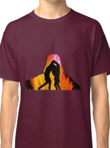 Star Wars - Anakin Skywalker Vs Obi Wan Kenobi Classic T-Shirt