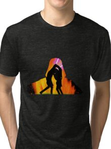 Star Wars - Anakin Skywalker Vs Obi Wan Kenobi Tri-blend T-Shirt