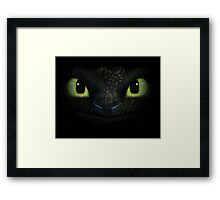 How to Train Your Dragon - The Eyes of Fury Framed Print