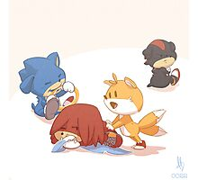 0022 - Sonic Pups Photographic Print