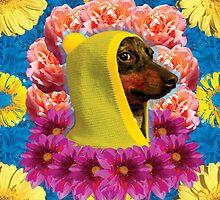 side eye doggo by STORMYMADE