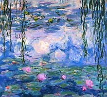 Water Lilies By Monet by SimplyBoutiques