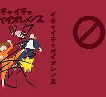 Icha Icha Violence Signed by langstal