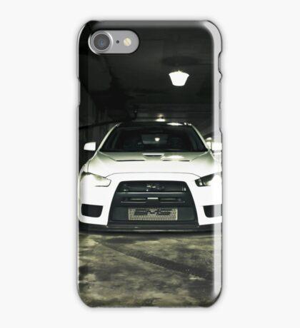 White Evo 10 iPhone Case/Skin